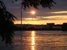 Sonnenuntergang über Schweizerhalle - Sunset at Schweizerhalle