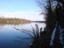 Winterbilder des Rheins/Winter images on the Rhine